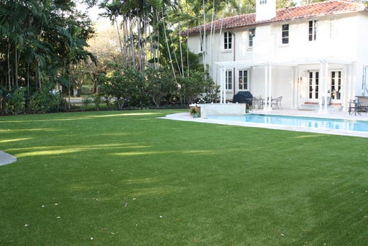Miami Synthetic Turf Grass Installation