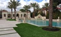 Artificial Grass around Pool
