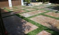 miami driveway turf strips