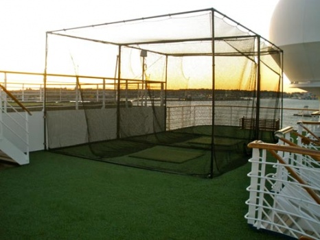 Artificial Grass Golf Cages