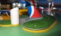 Cruise Ship Putting Greens