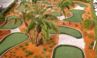 Synthetic Grass Mini Golf Courses