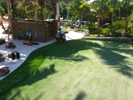 infill putting green