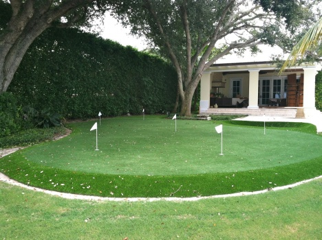 replica turf golf green