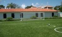 soccer field backyard