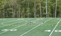 football synthetic field