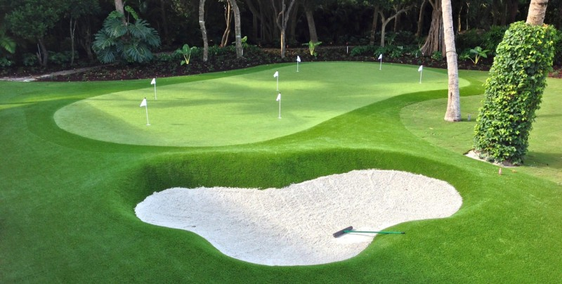 where is the best synthetic putting greens florida?