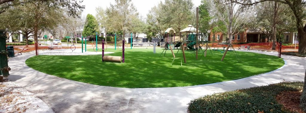 Where can I find someone to install synthetic lawns in Miami?
